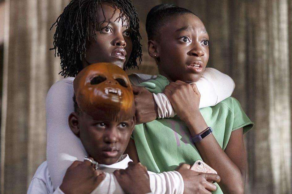 Lupita Nyong'o in Us on Netflix