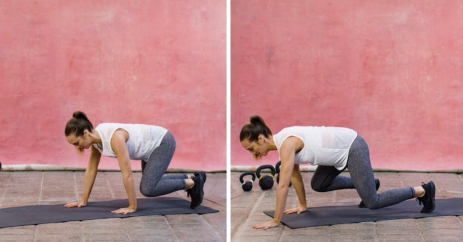 Move of the week: Bear crawl – the move for a stronger core