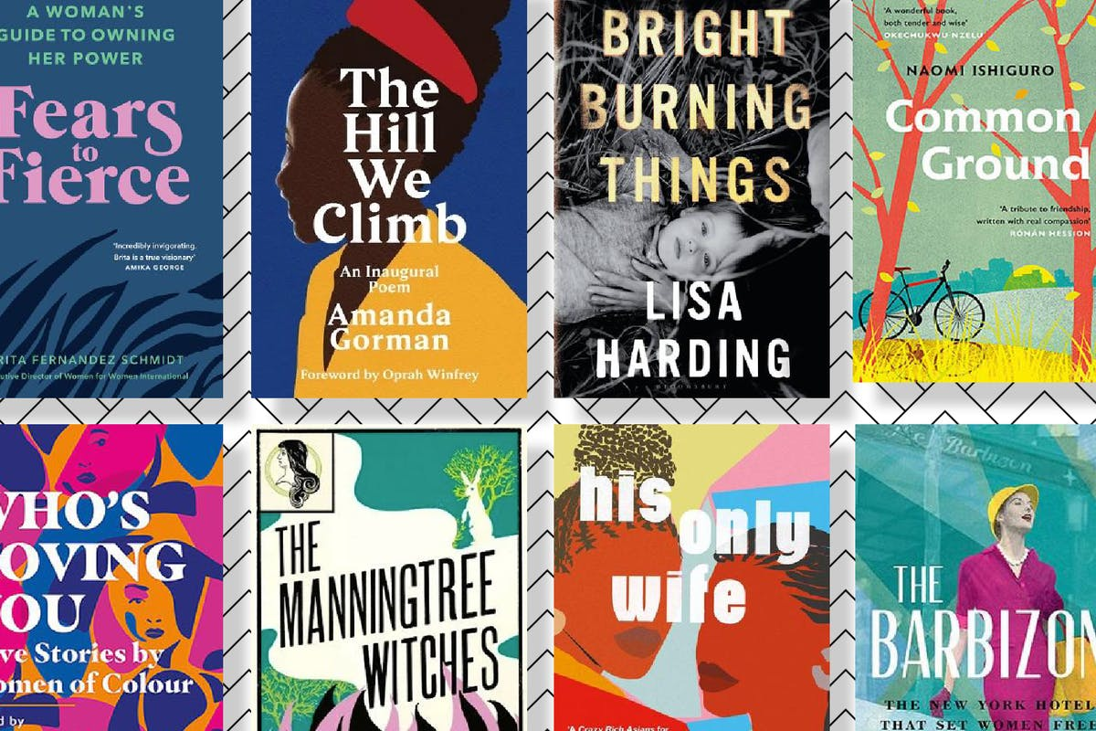 New book covers for March 2021, including The Hill We Climb by Amanda Gorman