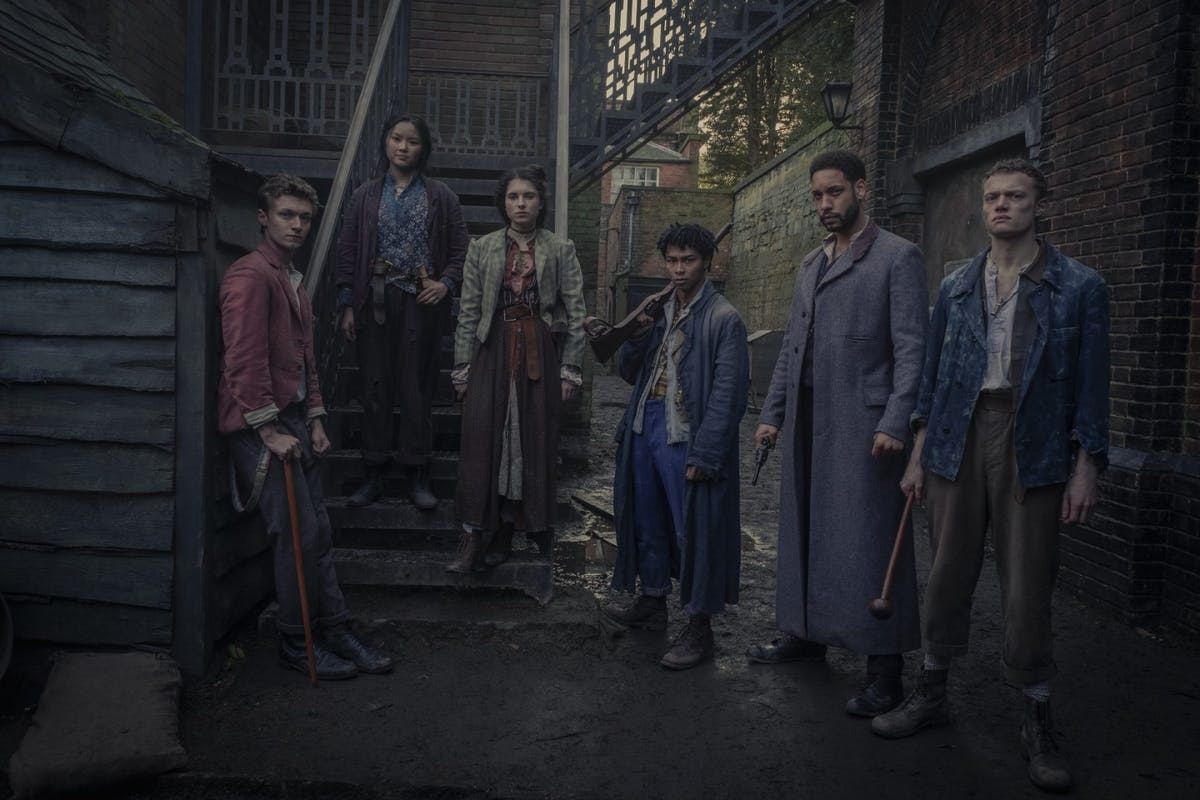 The Irregulars cast image