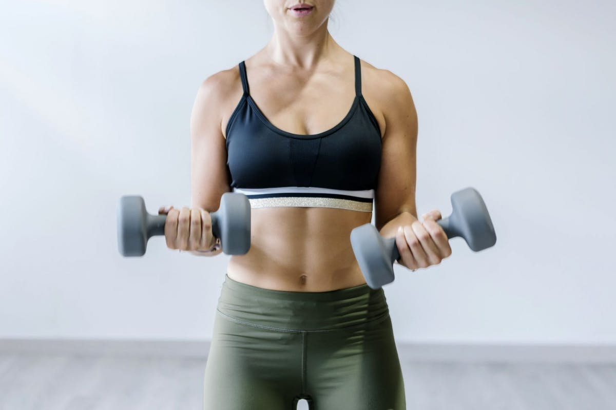 Body composition changing lean muscle mass.