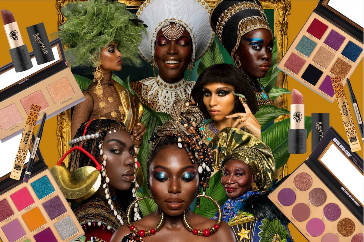 Coming 2 America UOMA Beauty makeup collection
