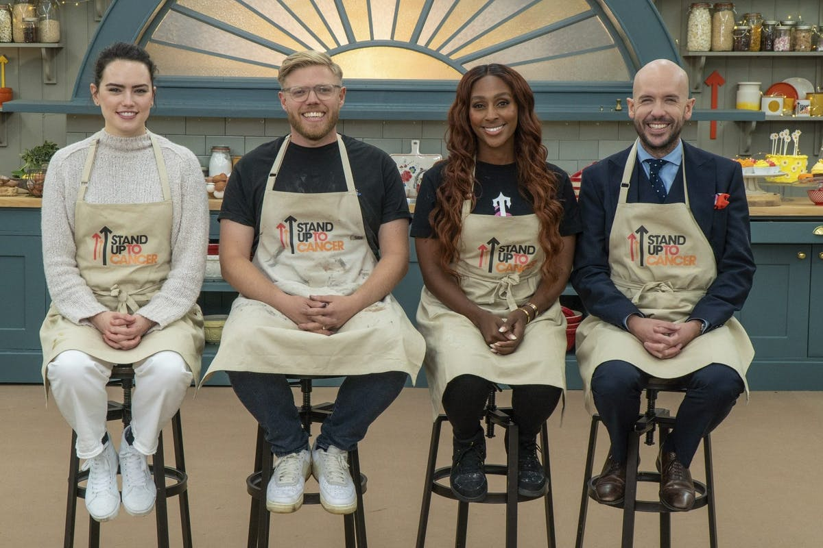 The Great Celebrity Bake Off For SU2C on Channel 4