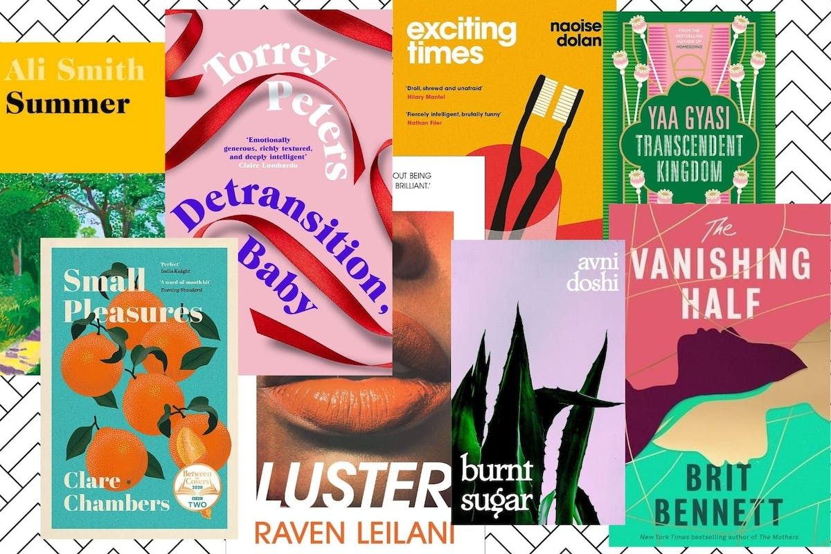 A collection of book covers from the Women's Prize For Fiction 2021 longlist