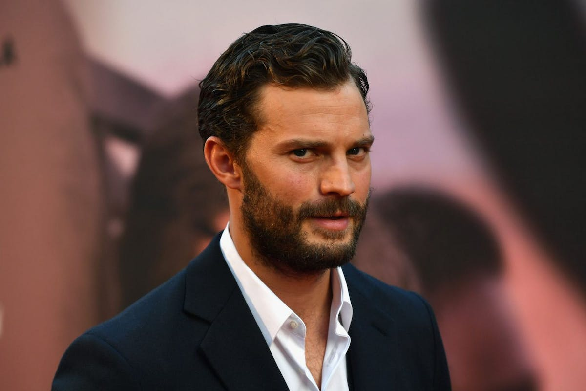 Jamie Dornan attends the European premiere of A Private War & Mayor of London gala during the 62nd BFI London Film Festival on October 20, 2018 in London, England. (Photo by Gareth Cattermole/Getty Images for BFI)