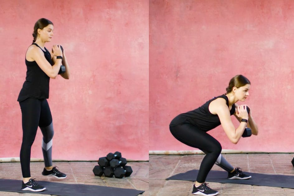 How to do a lateral lunge