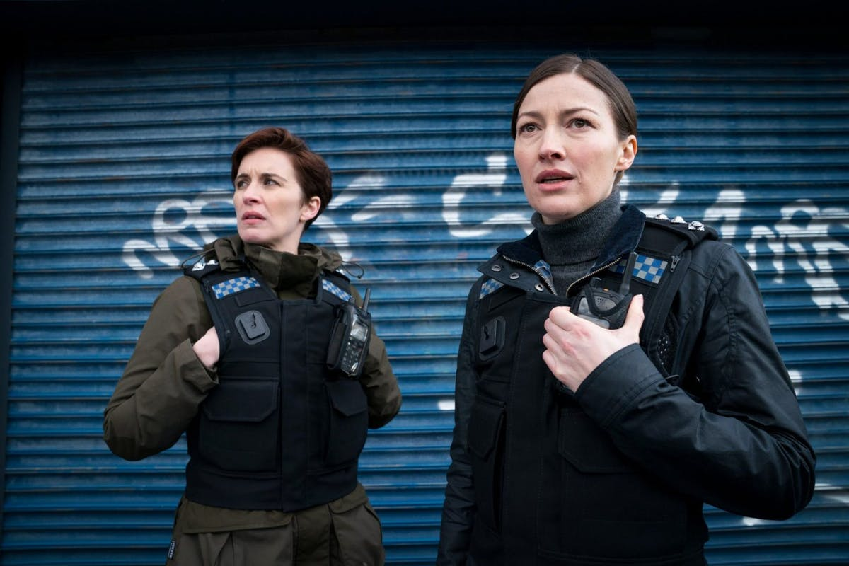 Vicky McClure and Jo Davidson as Kate Fleming and Jo Davidson in Line of Duty on BBC One