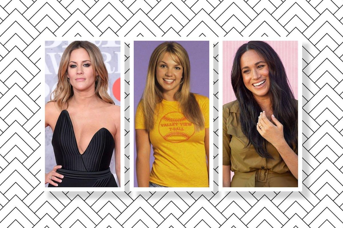 Caroline Flack, Britney Spears, and Meghan Markle