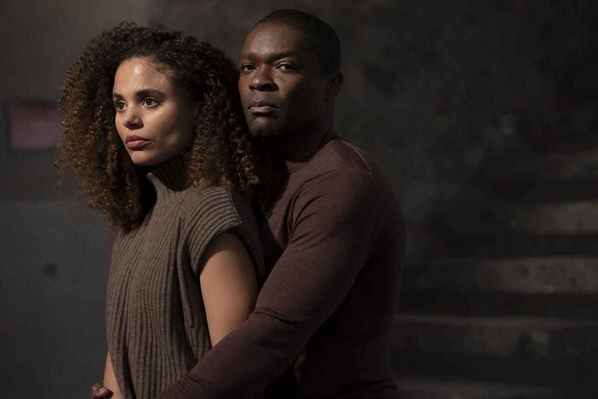 Jessica Plummer and David Oyelowo.