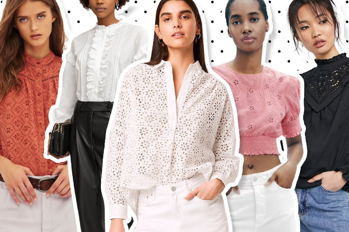 Broderie blouses