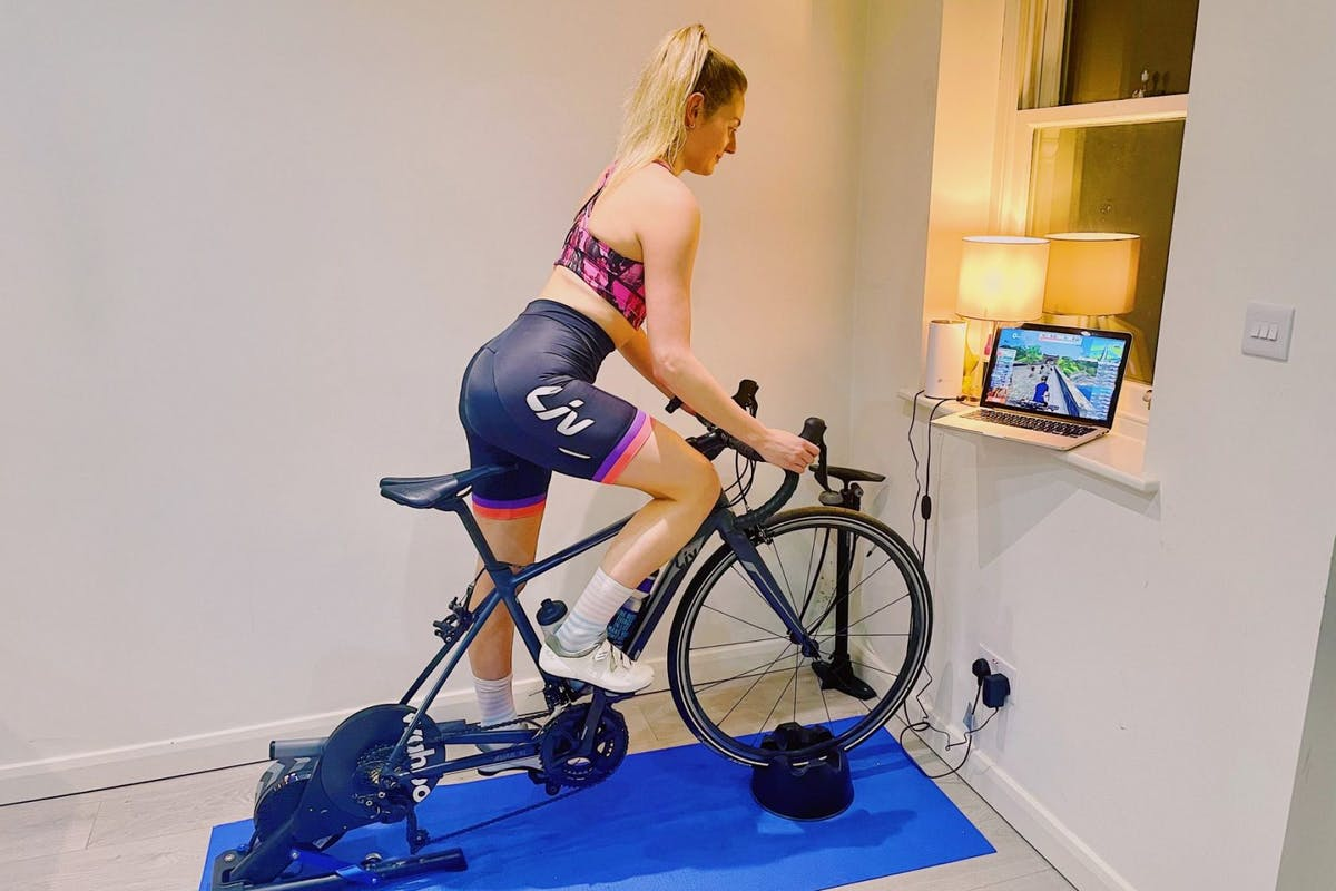 Alice Barraclough indoor cycling