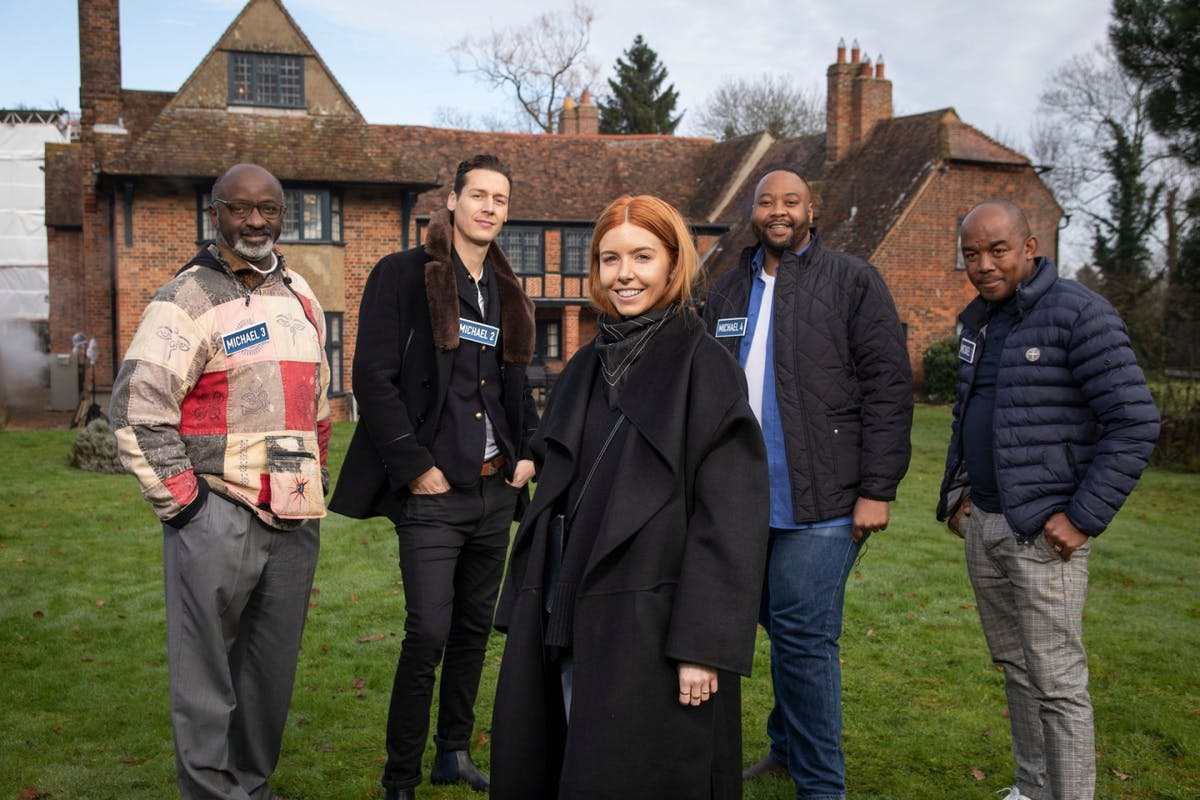 Stacey Dooley with This Is My House contestants