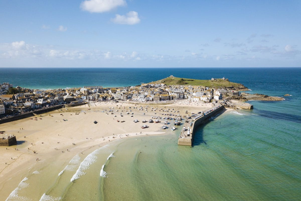 St Ives in Cornwall, UK