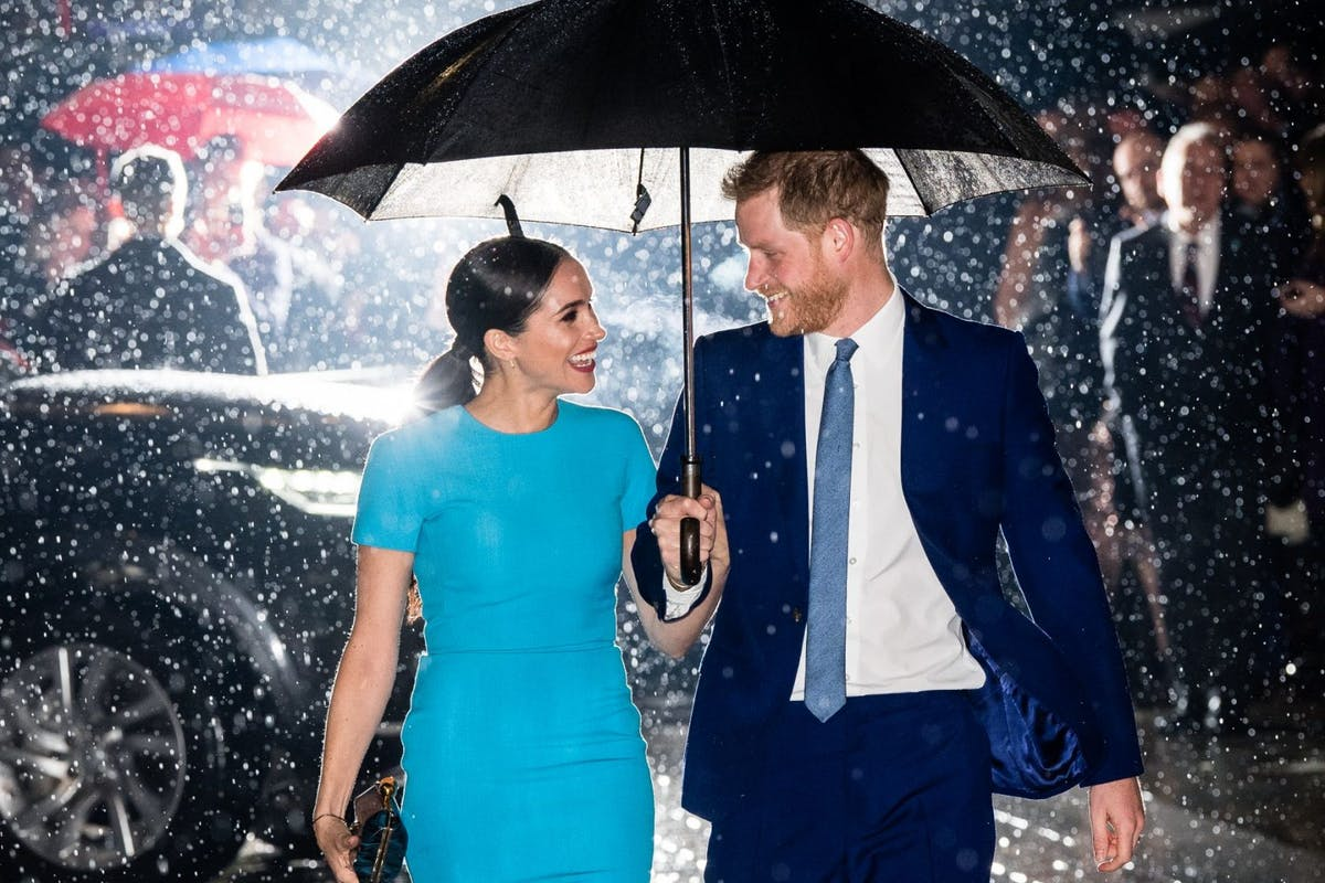 Prince Harry, Duke of Sussex and Meghan, Duchess of Sussex attend The Endeavour Fund Awards at Mansion House on March 05, 2020 in London, England. (Photo by Samir Hussein/WireImage)