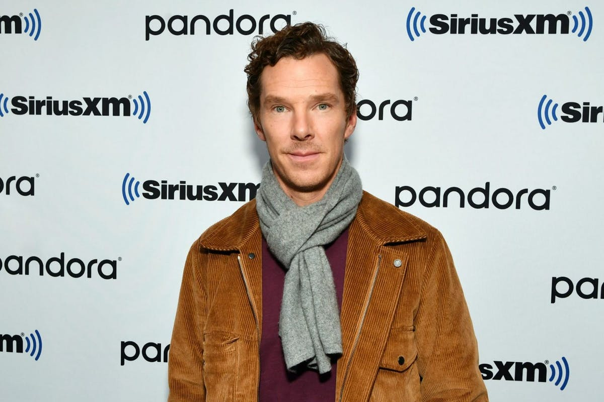 Benedict Cumberbatch visits SiriusXM Studios on October 22, 2019 in New York City. (Photo by Slaven Vlasic/Getty Images)
