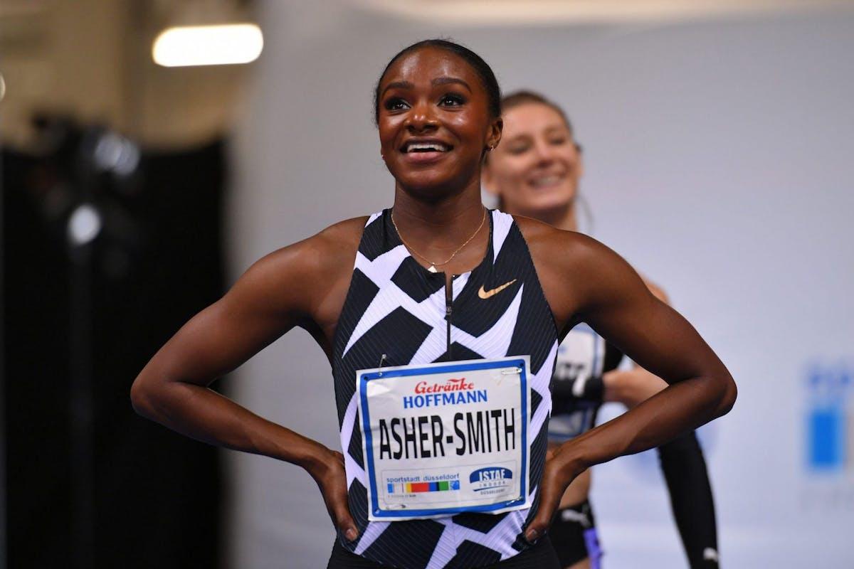 Dina Asher-Smith Doha