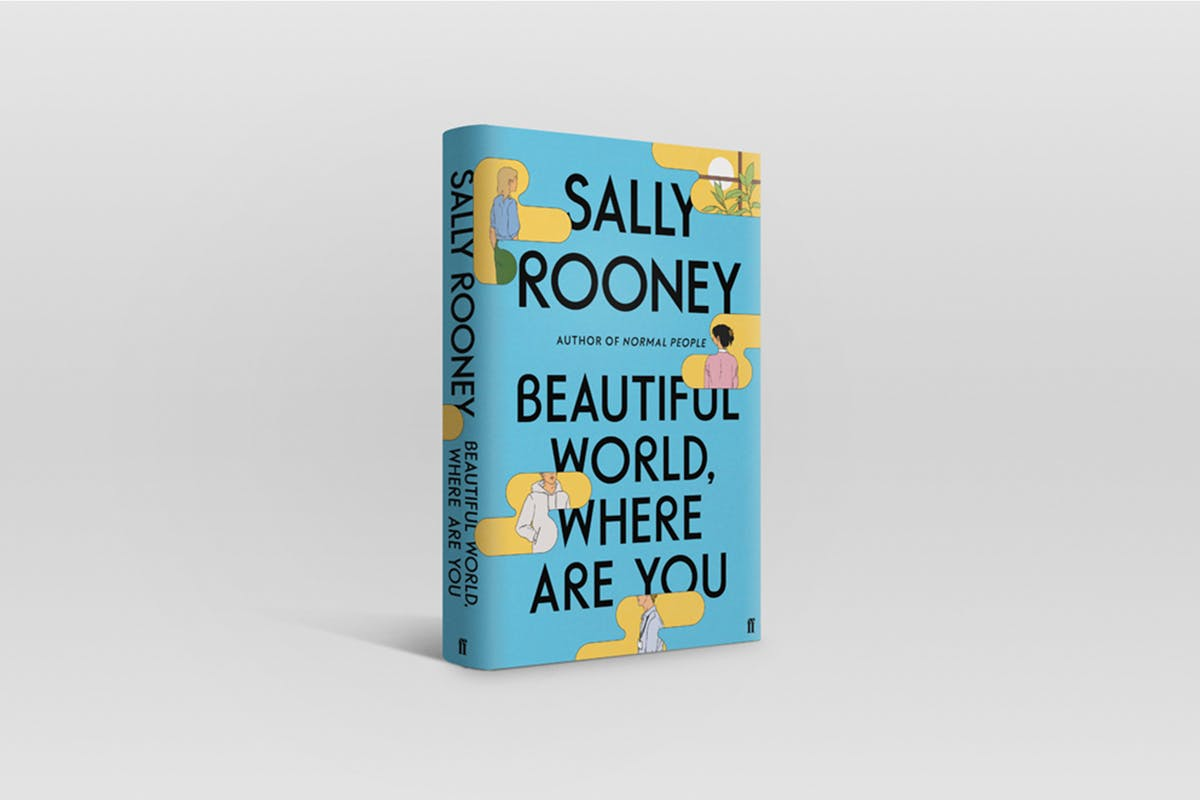 blue-illustrated-book-cover-of-Sally-Rooneys-third-novel-Beautiful-World-Where-Are-You