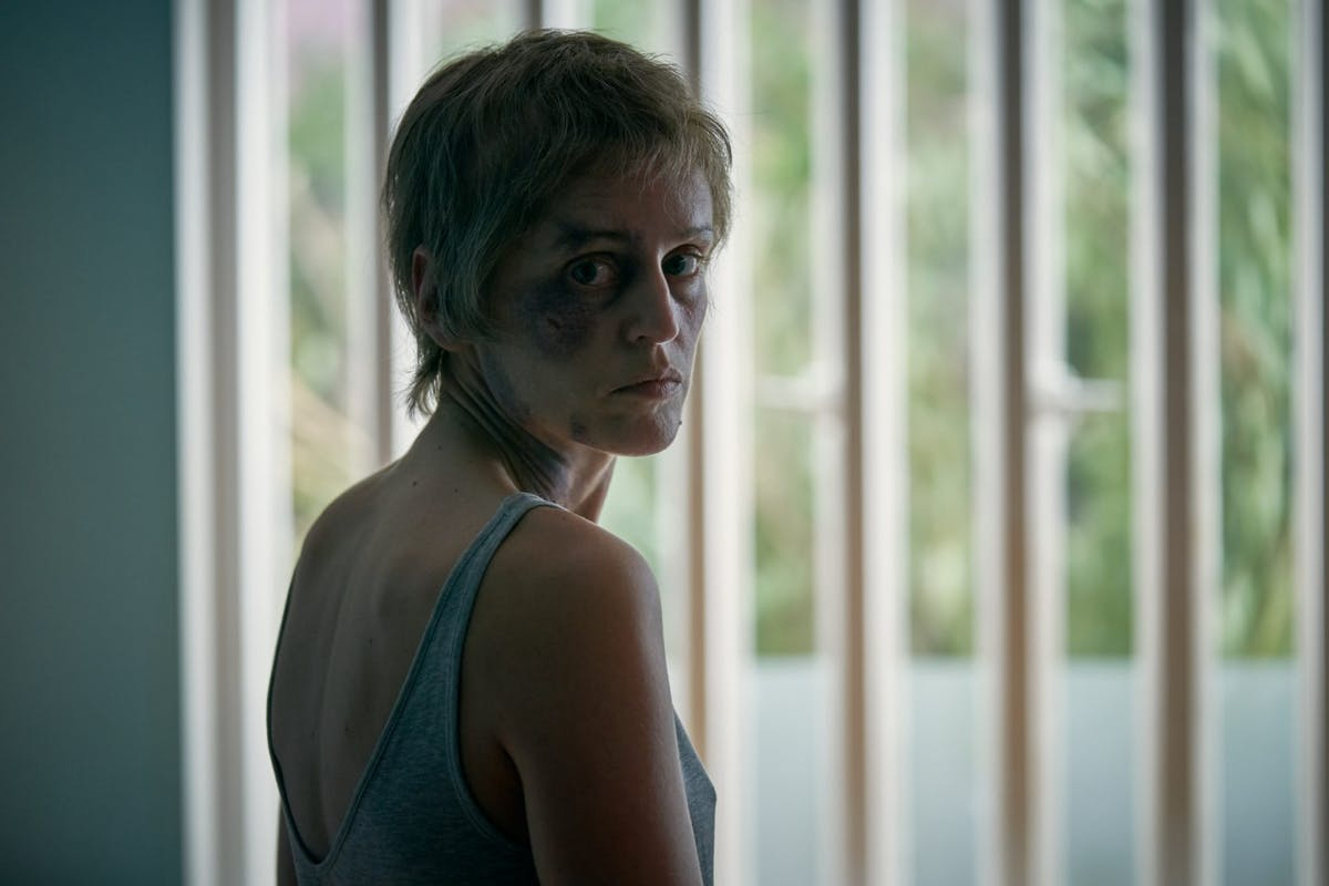 Denise Gough as Connie in ITV's Too Close