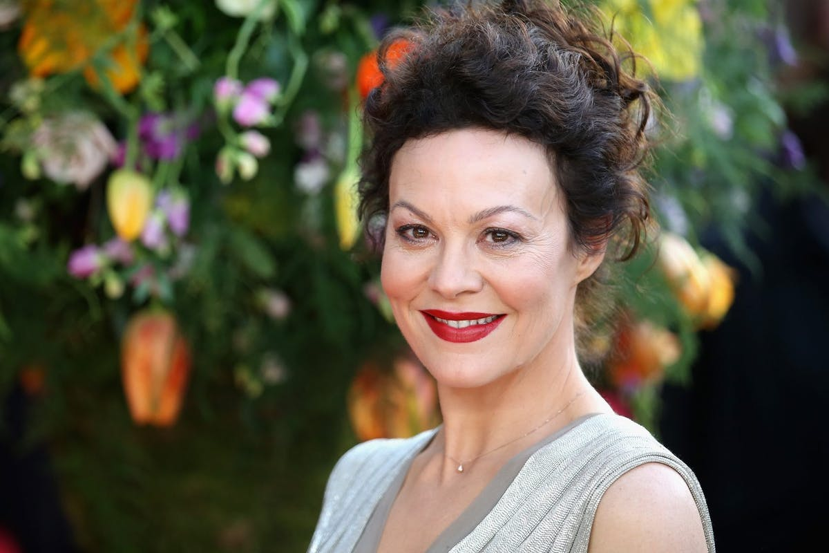 Helen McCrory at the premiere of A Little Chaos in 2015