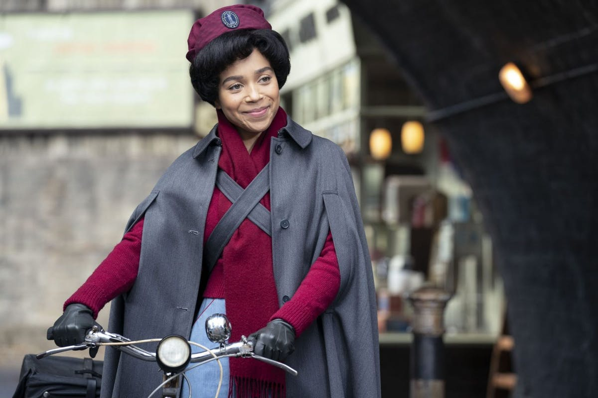 Lucille Anderson (Leonie Elliott) in Call The Midwife