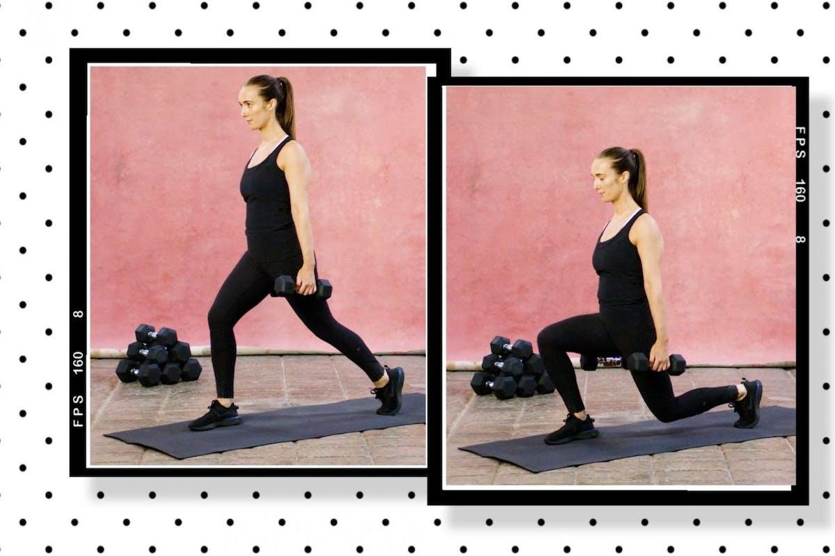 How to split squat