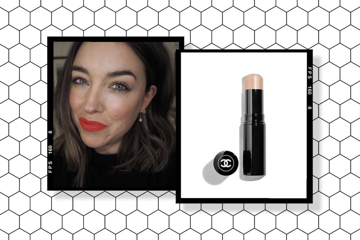 Lisa Potter-Dixon and Chanel Baume Essentiel Multi-Use Glow Stick