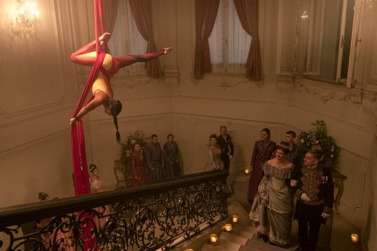 VELLAI KRISZTINA as INEJ SILKS DOUBLE in SHADOW AND BONE