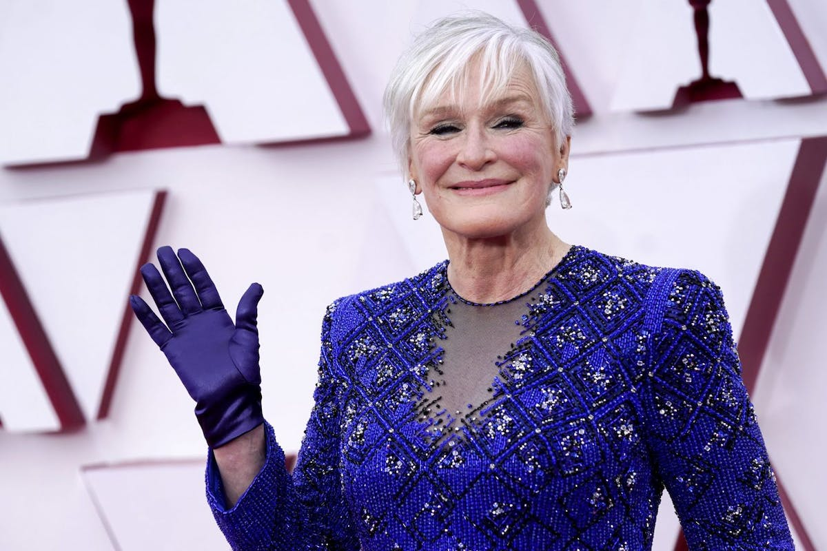 Glenn Close attends the 93rd Annual Academy Awards at Union Station on April 25, 2021 in Los Angeles, California. (Photo by Chris Pizzello-Pool/Getty Images)