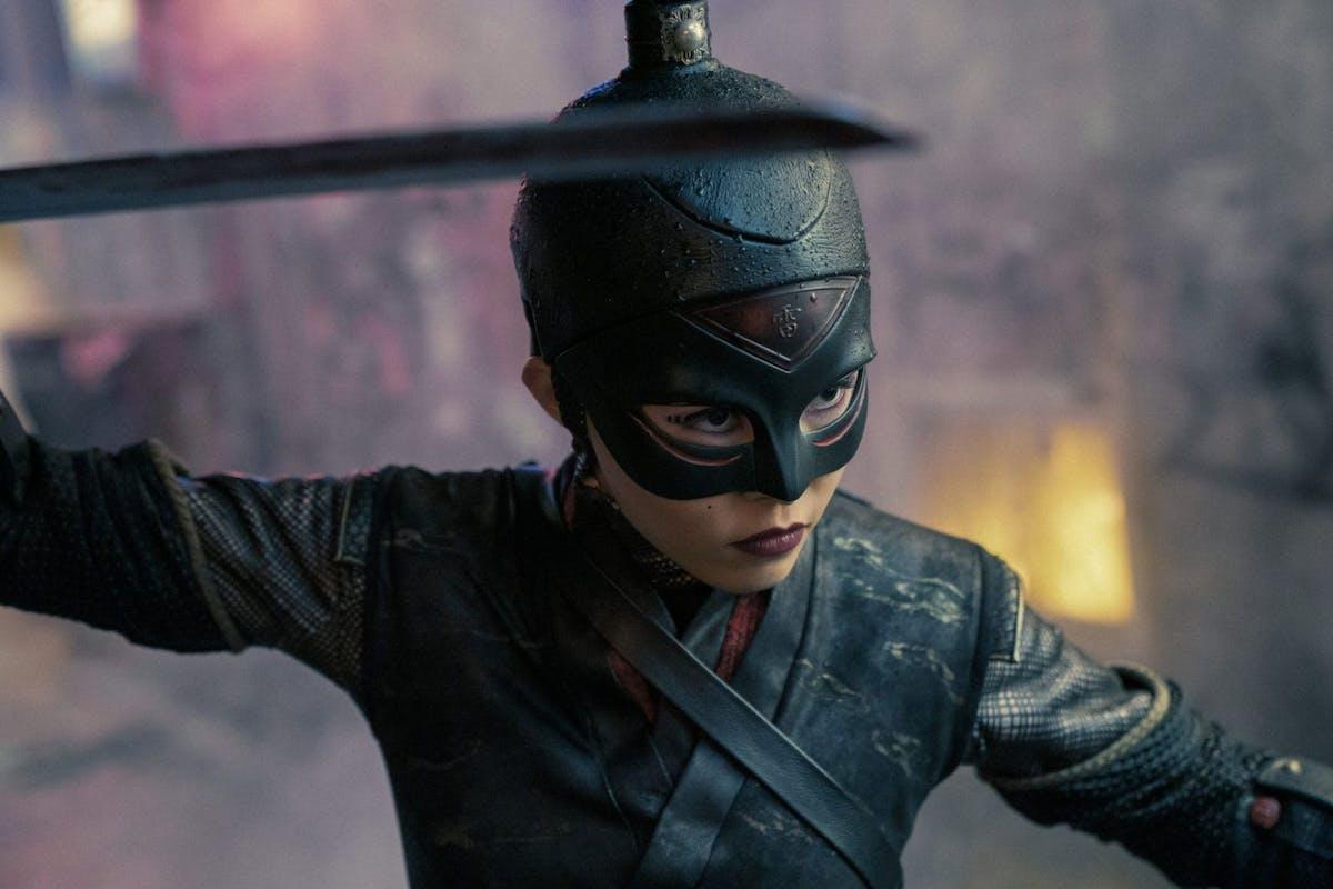 ANNA AKANA as RAIKOU in episode 107 of JUPITER'S LEGACY