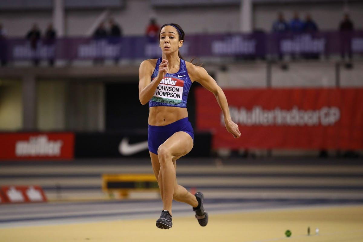Katarina Johnson Thompson running