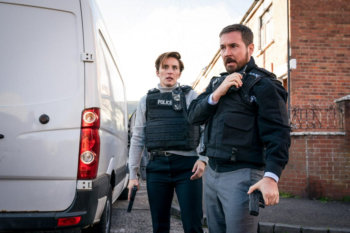 Martin Compston and Vicky McClure in Line Of Duty season 6 episode 7