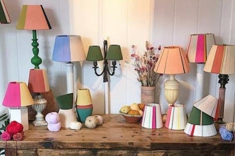 Loving String lampshades