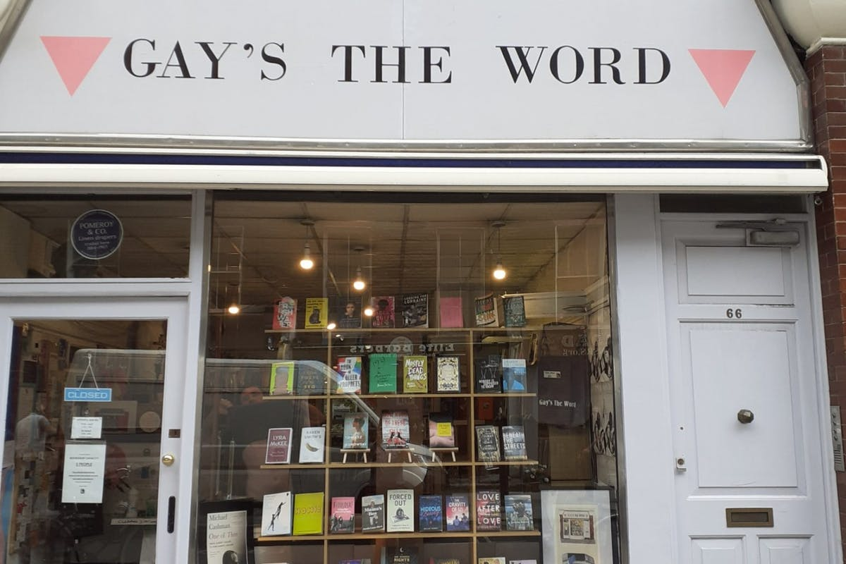Gay's the Word bookshop