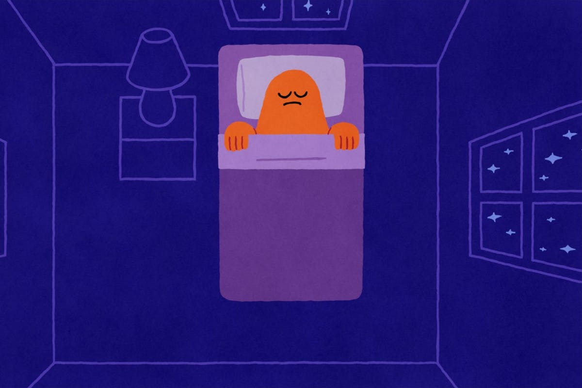 A screenshot from Netflix's Headspace Guide To Sleep