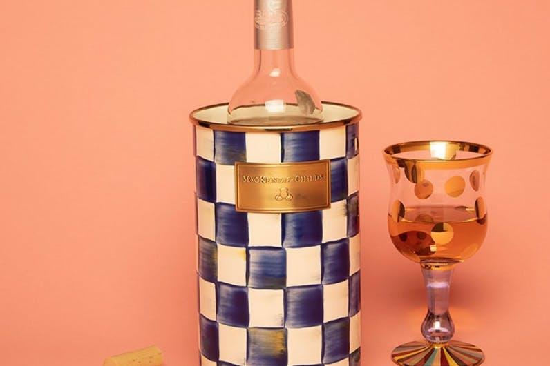 Mackenzie-Childs wine cooler