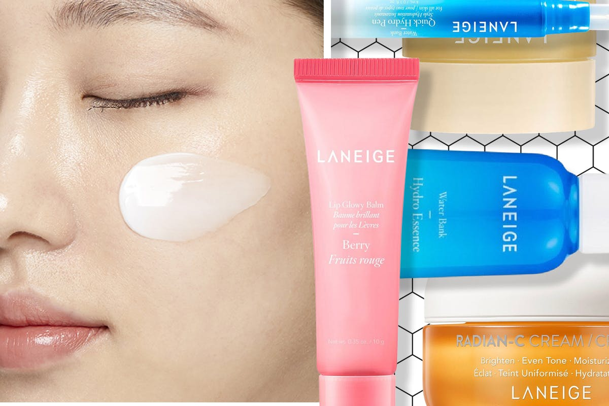 Laneige skincare products