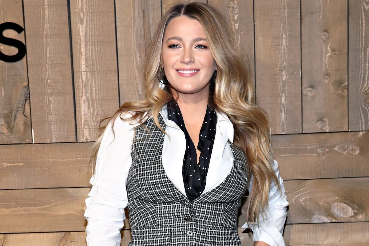 Blake Lively attends the Michael Kors FW20 Runway Show during New York Fashion Week on February 12, 2020 in New York City. (Photo by Cindy Ord/WireImage)