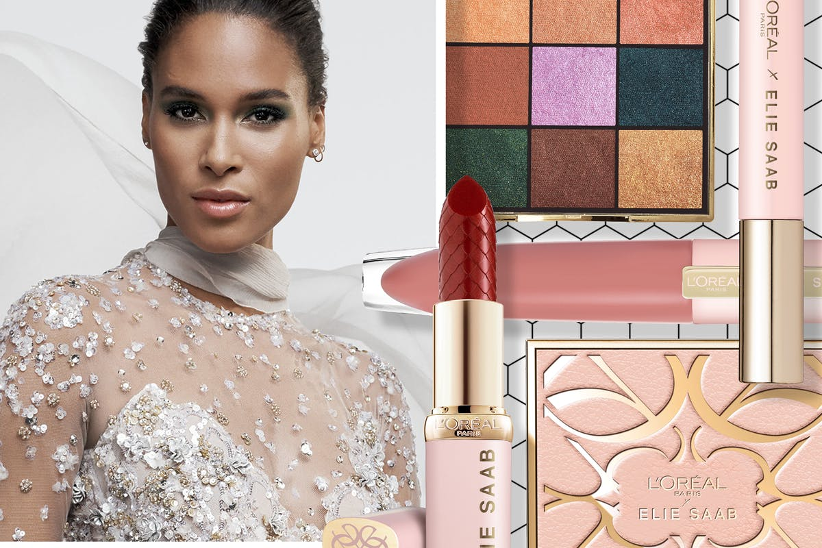 The first look at L'Oreal Paris X Elie Saab makeup collection