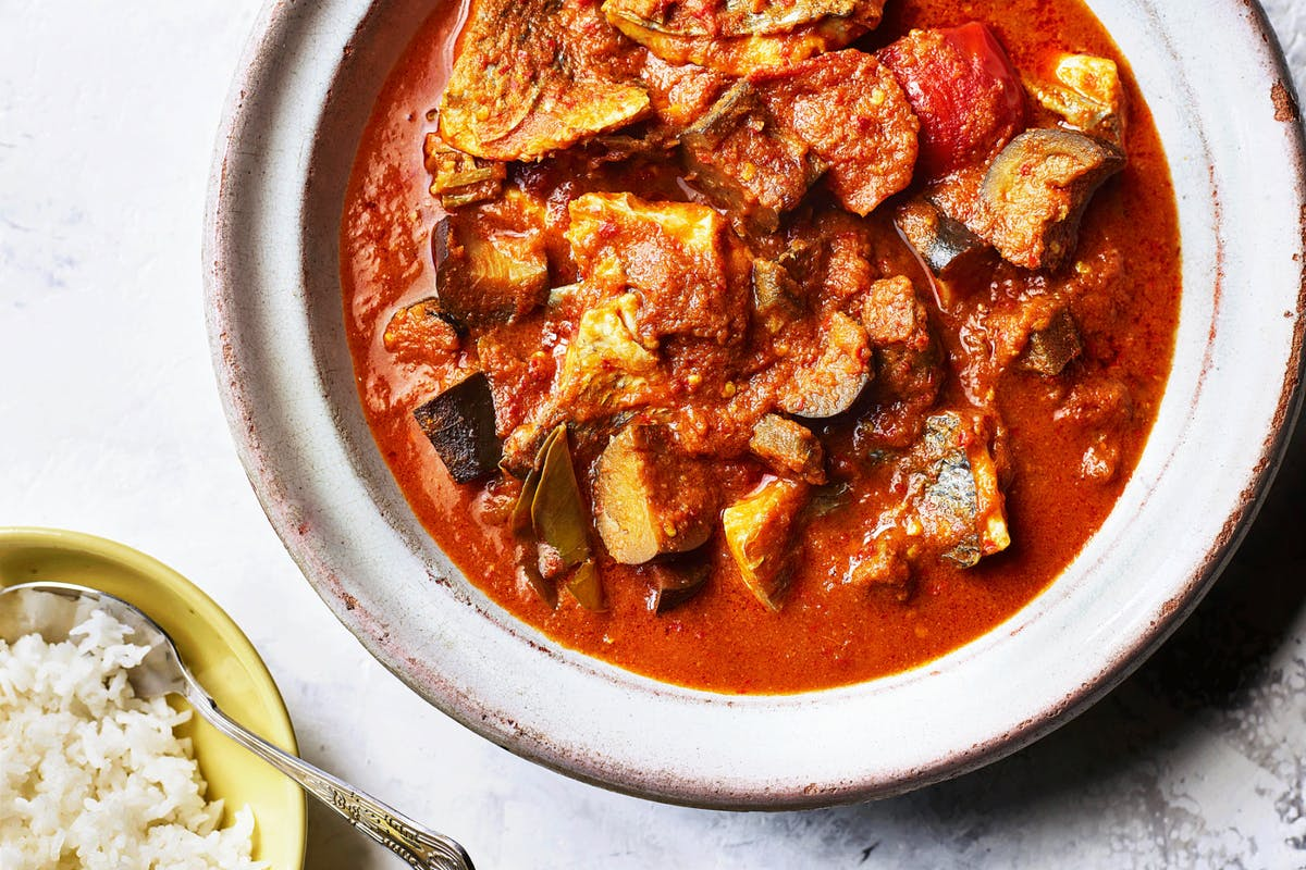 Singapore fish curry recipe by Elizabeth Haigh