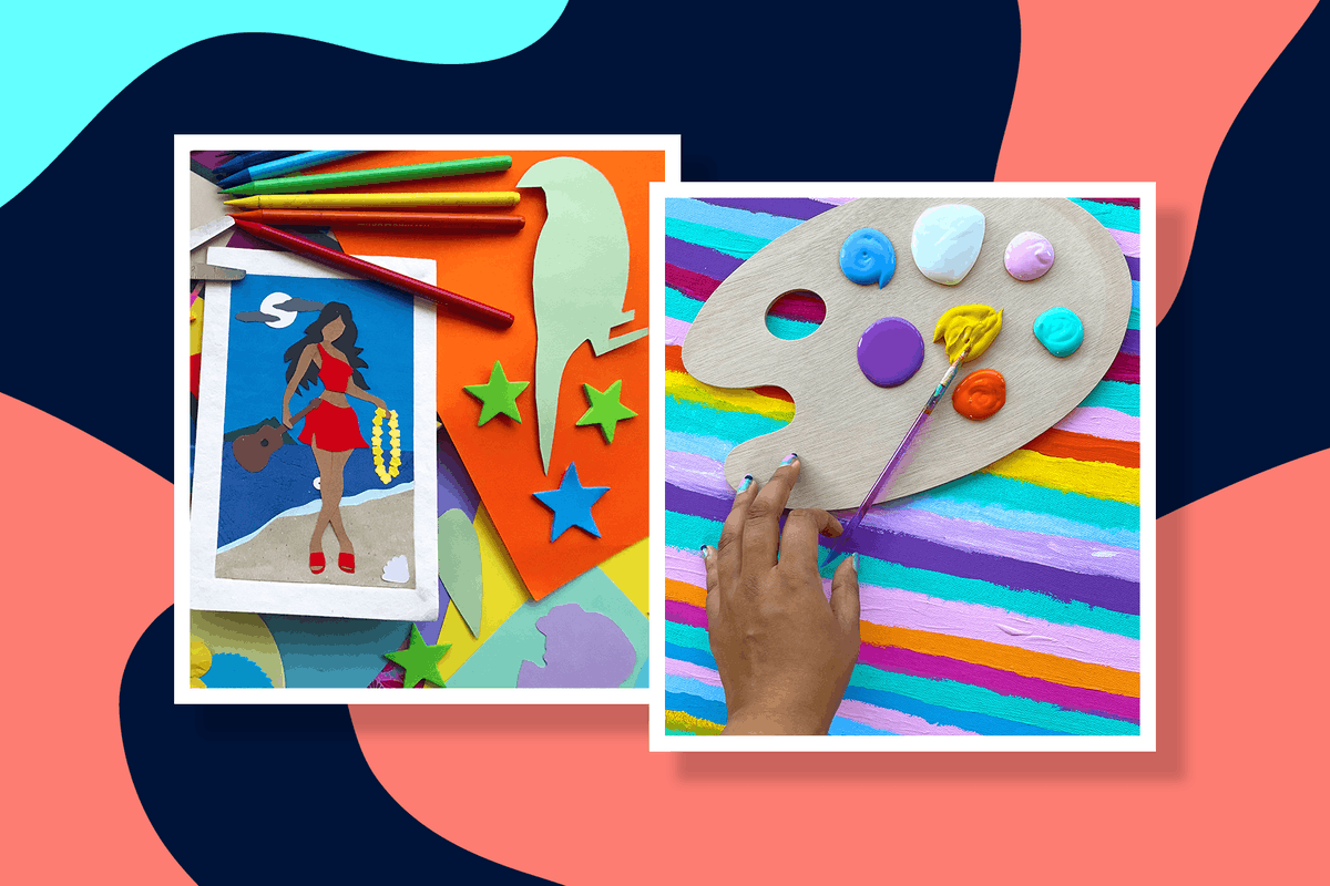 art therapy techniques at home