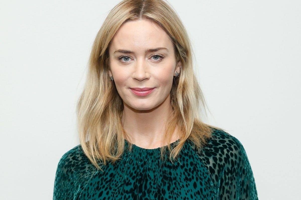 """Emily Blunt attends The Academy of Motion Pictures Arts and Sciences official Academy screening Of """"Mary Poppins Returns"""" at the MoMA Titus One on December 4, 2018 in New York City. (Photo by Lars Niki/Getty Images for the Academy Of Motion Pictures Arts & Sciences)"""