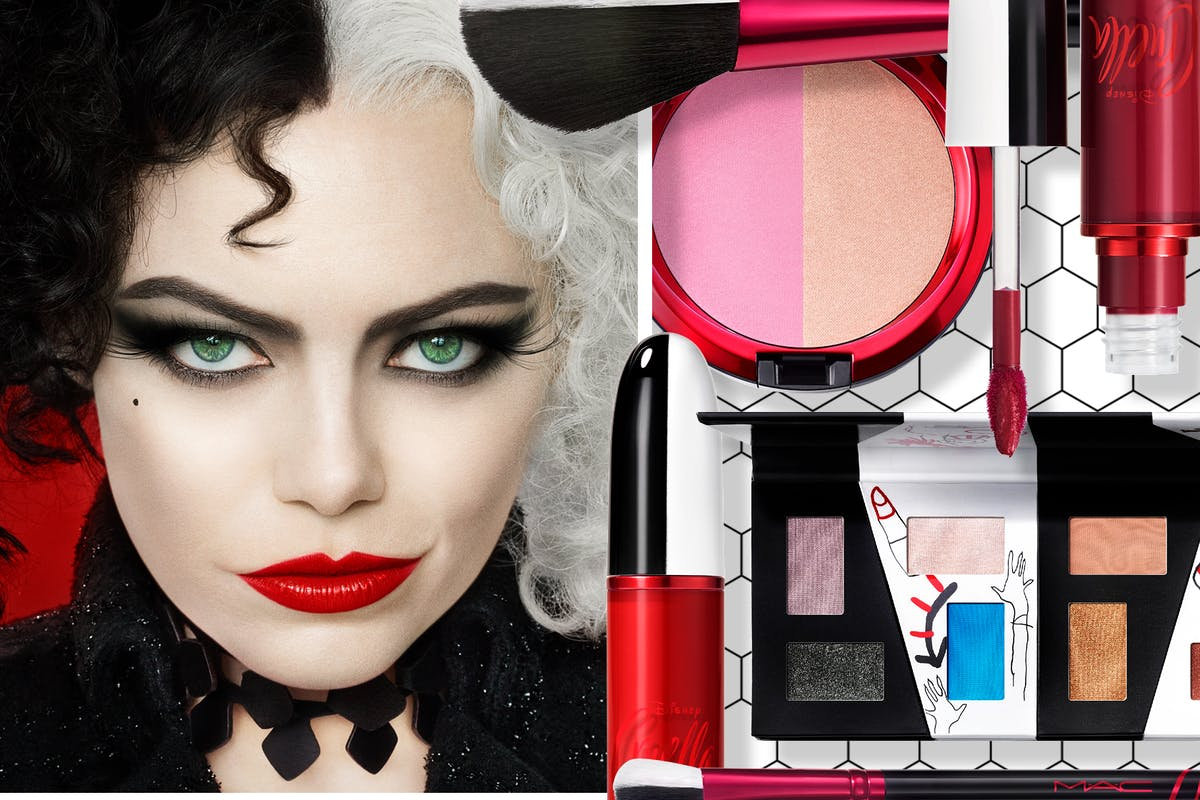 MAC x Disney Cruella make-up collection