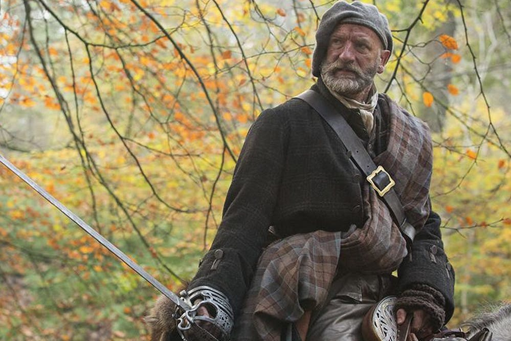 Jamie and Dougal in Outlander