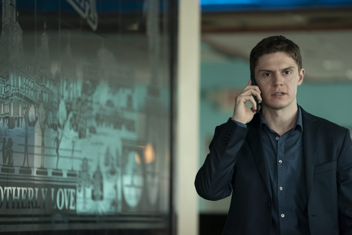 Evan Peters as Colin Zabel in Mare Of Easttown