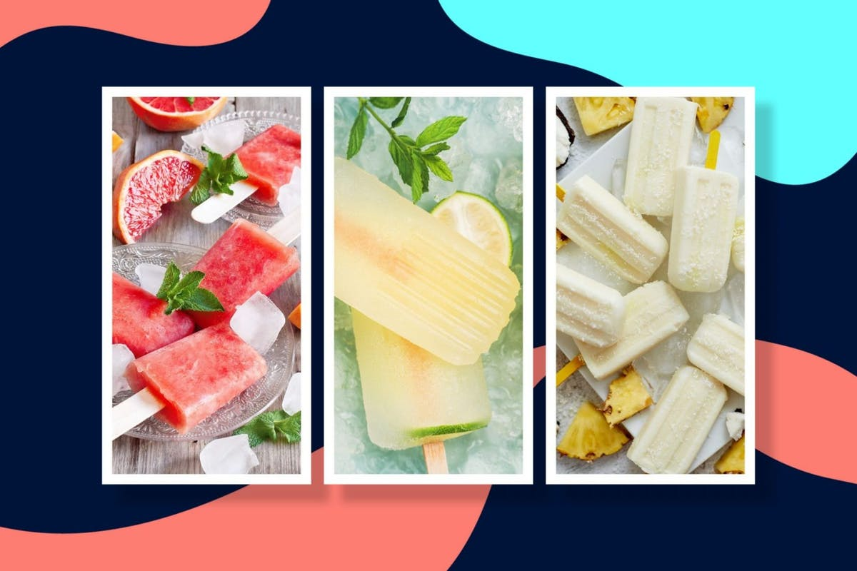 how to make boozy ice lollies