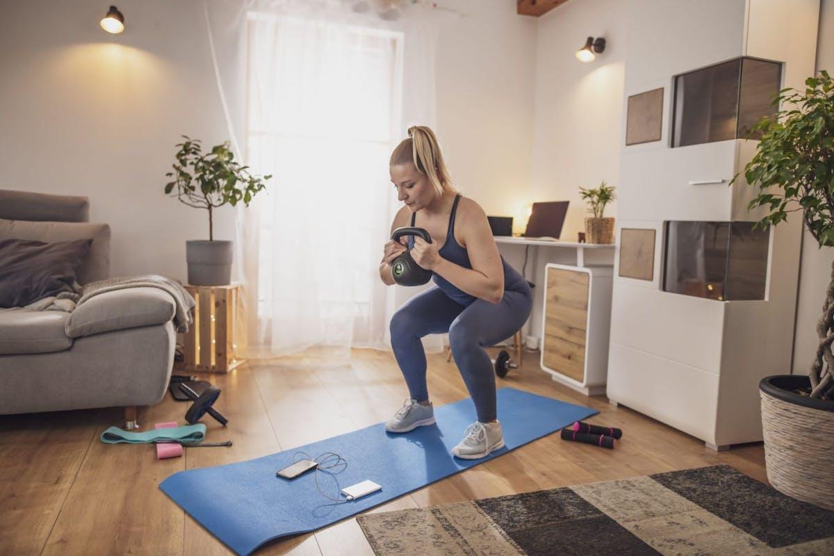 Goblet squat strength