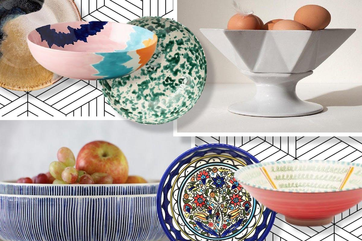 Stylish serving bowls.