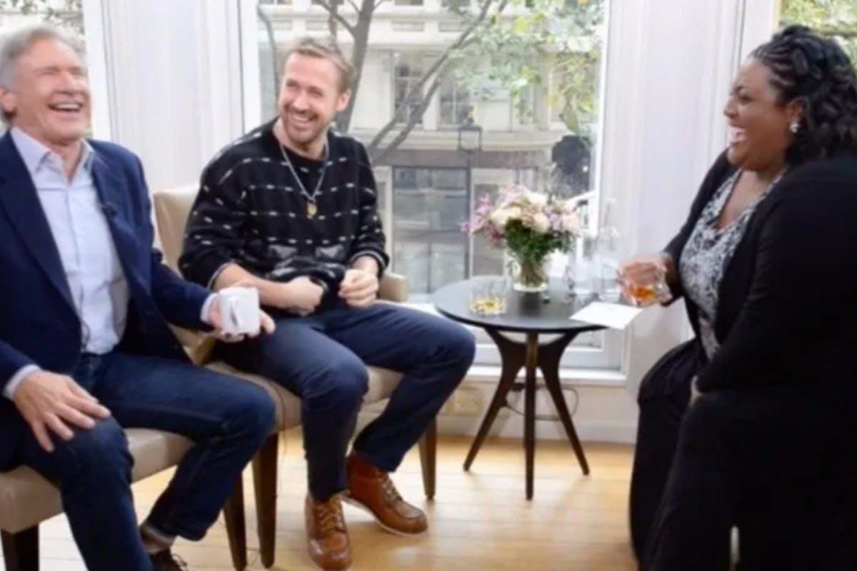 Alison Hammon interviewing Ryan Gosling