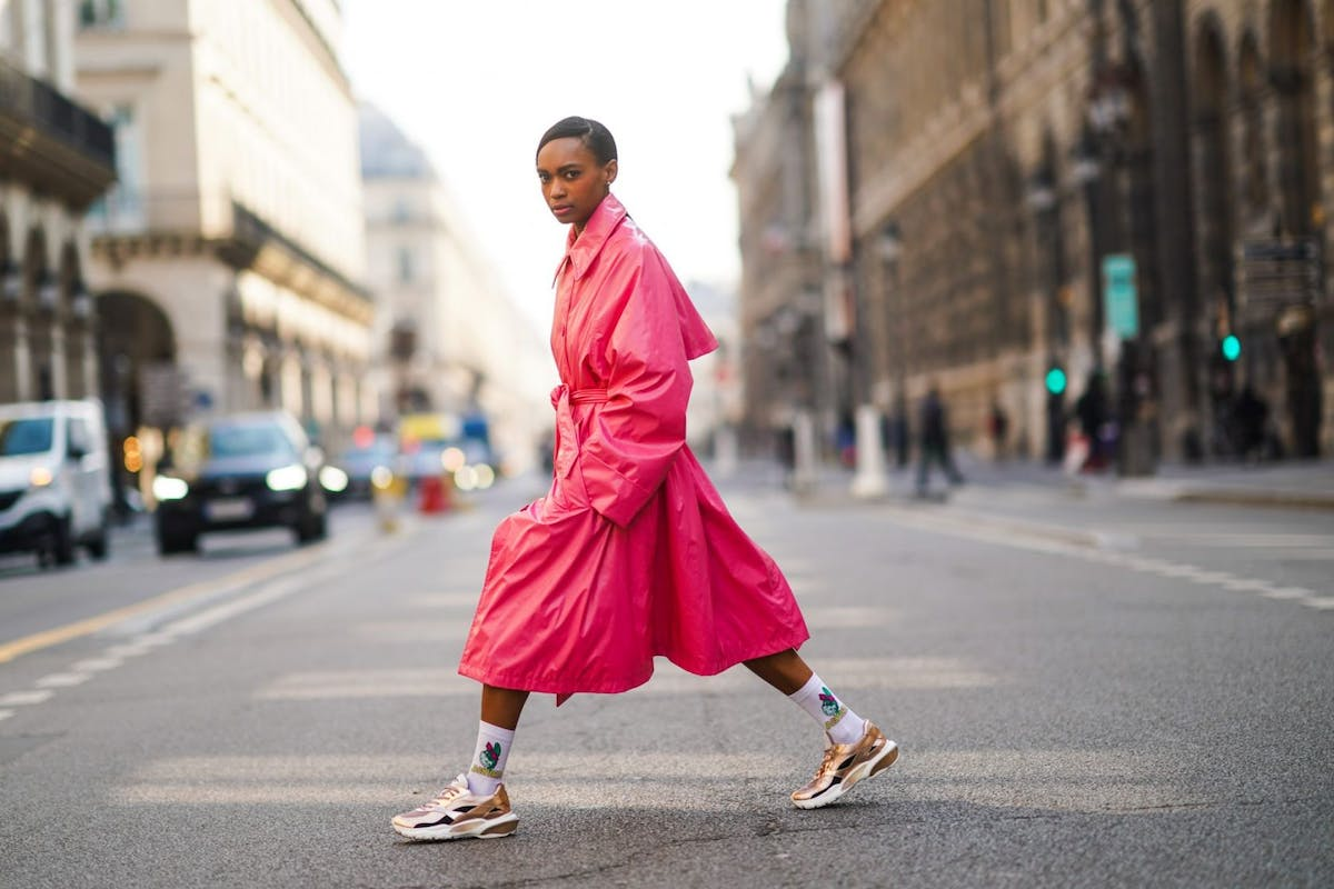 Best colourful trench coats