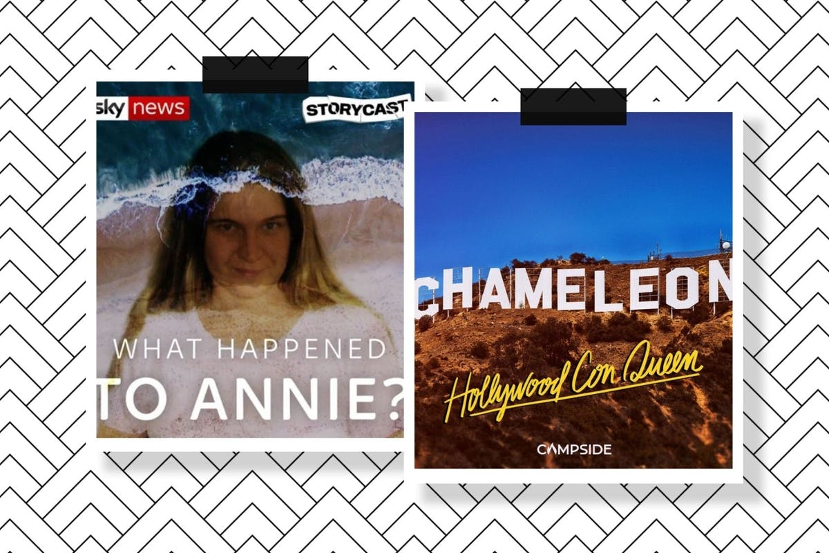 The covers for Who Killed Annie? and Chameleon: Hollywood Con Queen